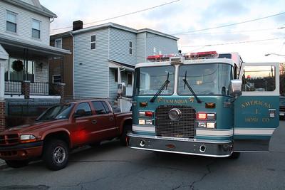 Odor Investigation, Willing St, Tamaqua (12-23-2011)