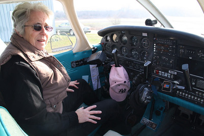 Second Flight Over Eastern Schuylkill, Western Carbon, with Fran Stahl, Tamaqua (12-12-2011)