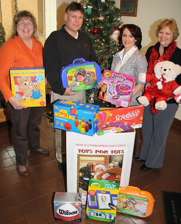 Toys For Tots Donation, Silberline, Hometown (12-14-2011)