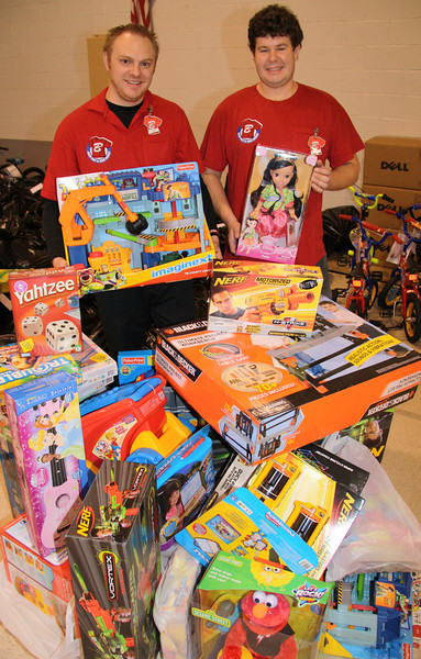 Toys For Tots Donation, Tamaqua Boyers, Salvation Army, Tamaqua (12-22-2011)