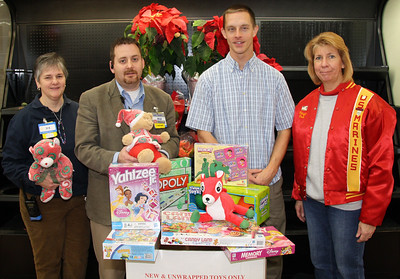 Toys For Tots, Salvation Army, Donation, WalMart, Hometown (12-22-2011)