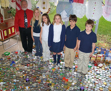 West Penn Students Donate Food to Salvation Army, Tamaqua (12-20-2011)