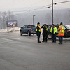 Blue Mountain Hill Closed Due to Ice, SR-309, Snyders (2-5-2011) :