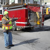 Burning Odor Response, East Broad St, Tamaqua (2-12-2011) :