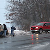 Car Stuck in Snow, SR-309, Ridge Cup, New Ringgold (2-5-2011) :
