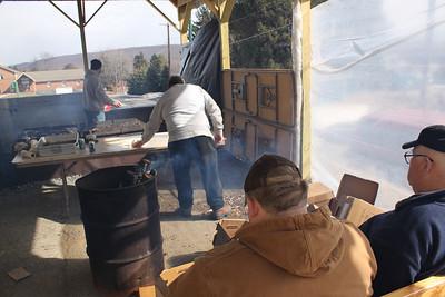 Chicken BBQ, Hometown Fire Company, Hometown (2-19-2011)