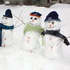 Family of Snowmen, Fryer Family, Kepners Rd, New Ringgold (2-2-2011) :