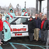 HT Fundraiser, Roadside Party, Liberty Tax Services, M & T Bank Parking, Tamaqua (2-5-2010) :