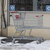 Littered Shopping Cart, Center St, SR-309, Tamaqua (2-1-2011) :