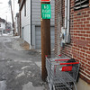 Littered Shopping Carts, Tamaqua (2-24-2011) :