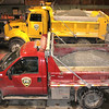 Mahoning Township Trucks Filled With Salt, Mahoning Township (2-4-2011) :