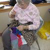 Needle Bugs Sewing Group, Salvation Army, Tamaqua (2-14-2011) :