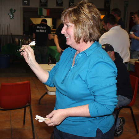 Notre Dame Dart Tournament Raises Money for Suicide Prevention, East End Fire Company, Tamaqua (2-26-2011)