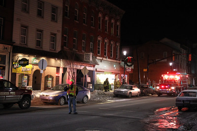 Odor Investigation, Paul's Sports Collectibles, West Broad St, Tamaqua (2-15-2011)