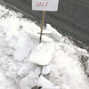 Snow For Sale, Gay St, Tamaqua (2-7-2011) :