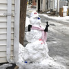 Snowman, East Cottage Ave,Tamaqua (2-24-2011) :