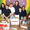 Soup-er Bowl Food Drive for Salvation Army, Elementary School, Tamaqua (2-7-2011) :