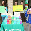 Tamaqua Girl Scouts Selling Girl Scout Cookies, Subway, Tamaqua (2-27-2011) :