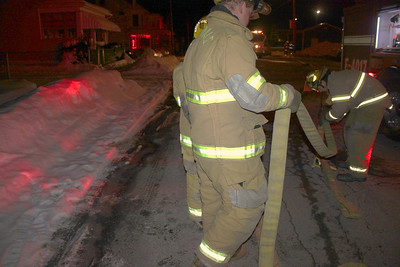 Cold Weather Fire Response Drill, Coaldale Fire Company, Coaldale (1-31-2011)