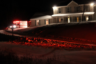 Man injured on Tractor Plow, West Penn Township (1-22-2011)