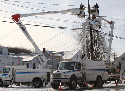 Power Outage, West Broad St, Tamaqua (1-22-2011)