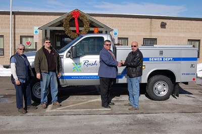 Rush Township's New Sewer Department Truck, Hometown (1-31-2011)