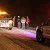 Car Accident, Snow, Ice, Coaldale (3-7-2011) :