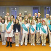 Girl Scouts Visit Police Station and Attend Borough Council Meeting, Borough Hall, Tamaqua (3-15-2011) :