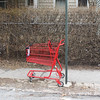 Littered Shopping Cart, West Rowe St, Tamaqua (3-12-2011) :