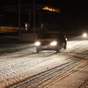 Sleet-Covered Roads, SR-209, Coaldale (3-7-2011) :