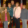 Tamaqua Girl Scouts Learn About Gift of Life Program, St John's UCC, Tamaqua (3-8-2011) :