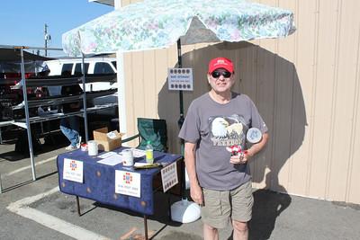 Andreas Tamaqua VFW Post 5069 Selling Poppies at Hometown Market, Hometown (5-25-2011)