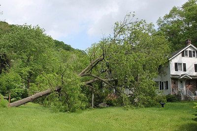 Second Day Aftermath of High Winds and Tornado, West Penn & East Brunswick Township (5-28-2011)