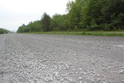 Spilled Stone results in Generous Donation, SR209, Kellner's Dam, Tamaqua (5-26-2011)
