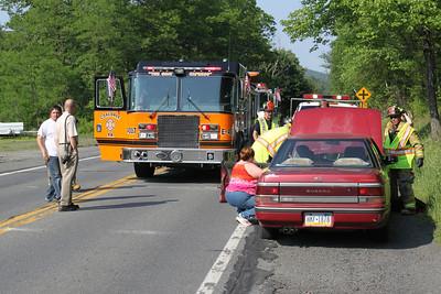 Two Vehicle Accident, SR209, Seek, Coaldale (5-31-2011)