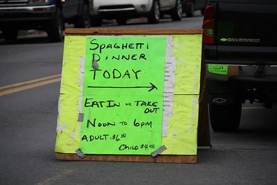 Spaghetti Dinner, Tamaqua Rescue Squad, Tamaqua (10-22-2011)