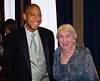 Groomsman Justin White and John's grandmom, Marge Dougherty