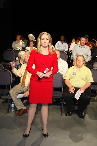 Moderator Paige Kelton.