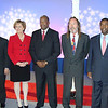 Jacksonville mayoral candidates Rick Mullaney (Rep.), Audrey Moran (Rep.), Warren Lee (Dem.), Steve Irvine (Independent) and Warren Lee (Dem.)