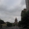 Main drag in Austin with State Capitol in view