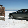 """The Adams' CFS on Pikes Peak, Sept 18, 2011 - We started the Tour in style when a few of us drove up to Pikes Peak the 1st day.  It had snowed a few days before and they had to plow the road to allow access.  It was 10 AM when we arrived at the top and it was about 30F.<br /> <br /> John & Marcie SmugMug Photos - <a href=""""http://smu.gs/o3xj0f"""">http://smu.gs/o3xj0f</a>"""