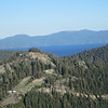 Lake Tahoe as seen from top of mountain