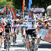 The winner, and by a mile, is Matthew Goss - ahead of Greipel and McEwen and Sutton...