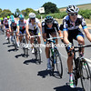 Cameron Meyer relays the chasing for Garmin - the gap is shrinking fast..!