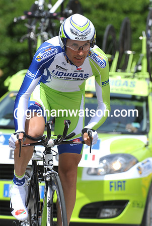 Ivan Basso was the slowest of a huge range of 'stars in today's Prologue - the Italian took 102nd place at 34-seconds...