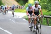 Sivtsov and Van Den Broeck have launched a duel attack on the climb...