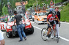 Tiago Machado has made a wheel change and has none other than Johan Bruyneel to push him back into the peloton...
