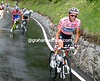 Contador attacks immediately...