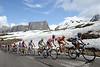 Still more Passo Giau for the group containing Contador..!