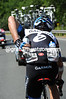 David Millar loads up for Team Garmin...